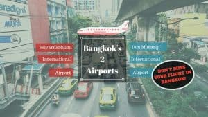 The Difference Between Bangkok's Two International Airports