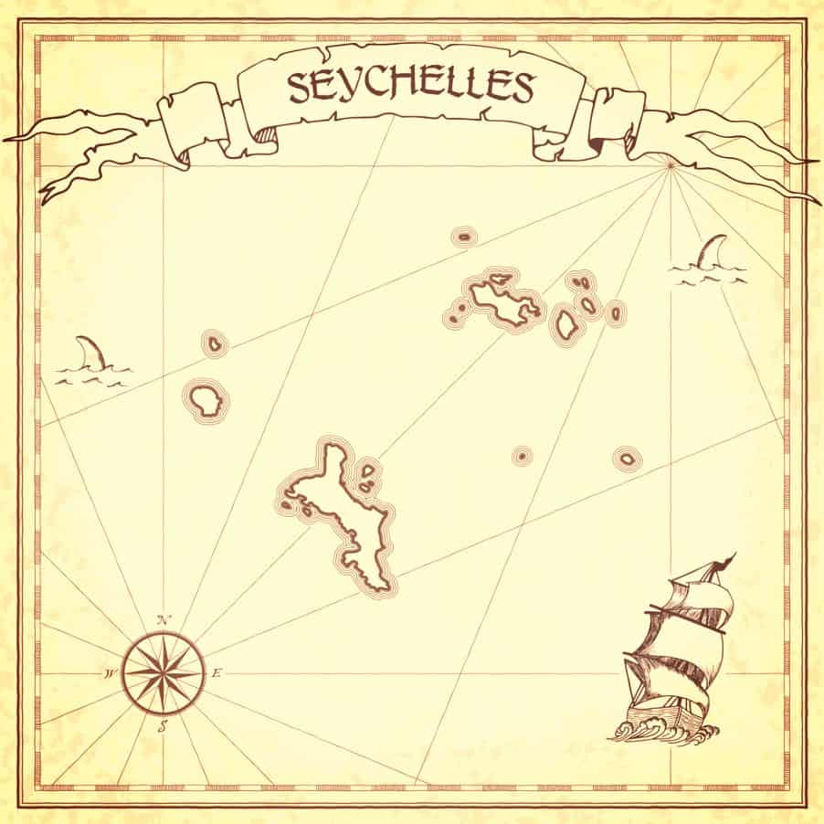 Pirate Map Seychelles