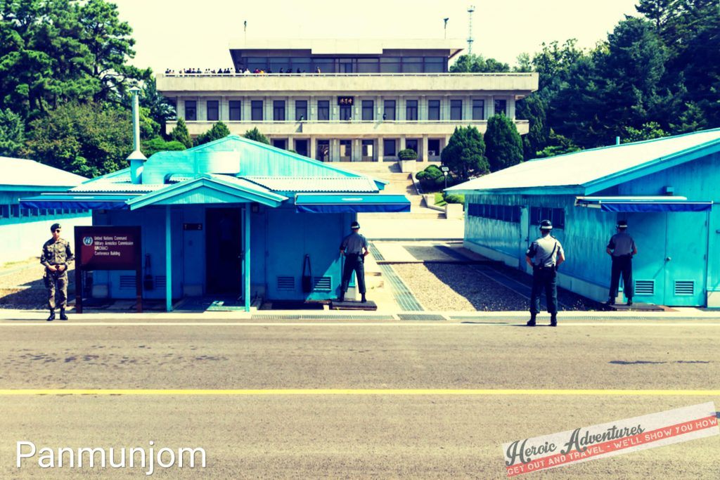 Panmunjom DMZ South Korean Border with North Korea