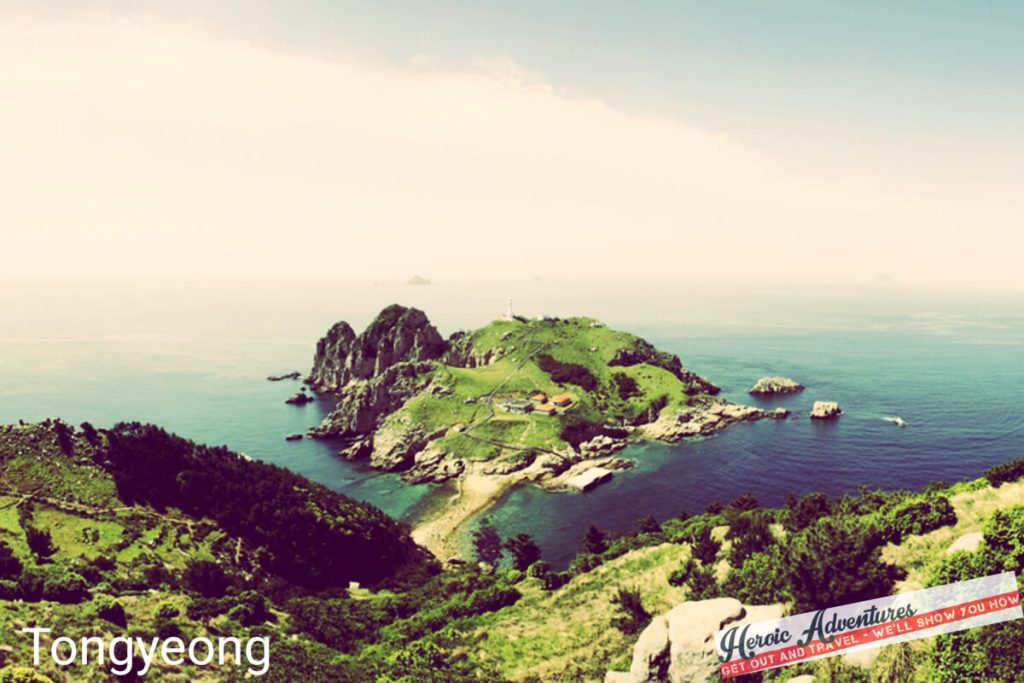 Tongyeong Coastline South Korea