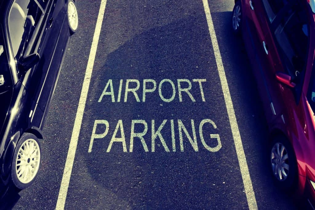 Air Port Parking space find