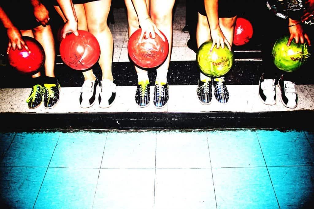 Bowling Alley teamwork