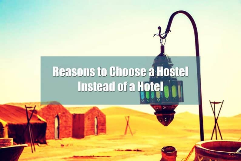 Benefits of Hostel over Hotel
