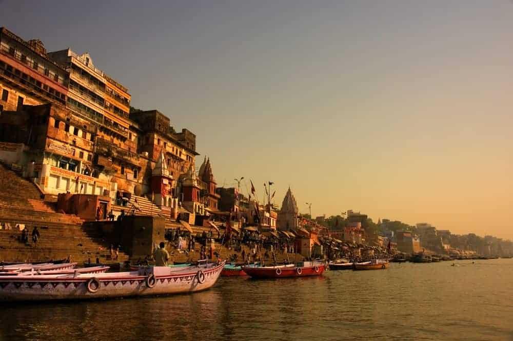 Varansari India River