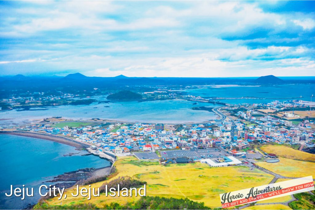 Jeju City Sout Korea Hiking