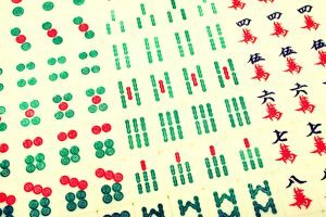 Tiles Used to Play Mahjong