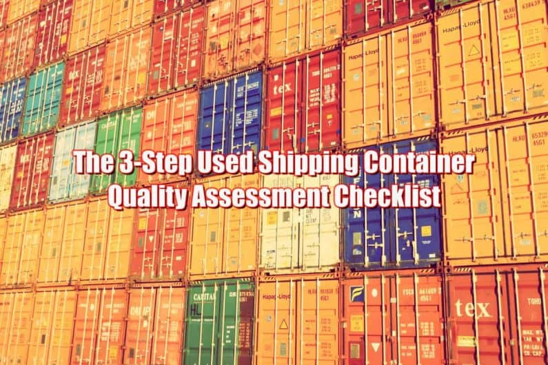 How to Buy a Second Hand Shipping Container