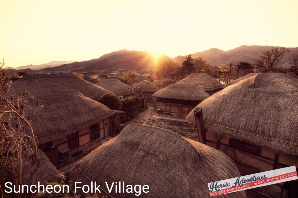 Suncheon Folk Village South Korea