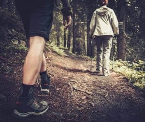 Trail Hike Pole Helps Stability on Uneven Ground