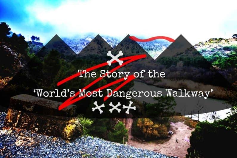 Spanish Trail Dangerous El Caminito Del Rey