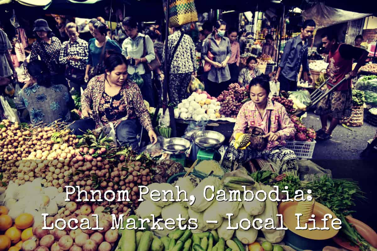 Cambodia Local Market
