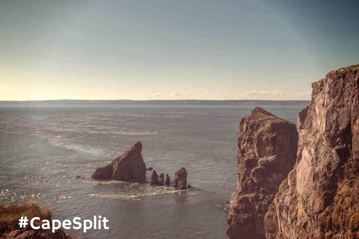 Cape Split Rocky Shoreline Tides
