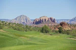 golf green in sedona