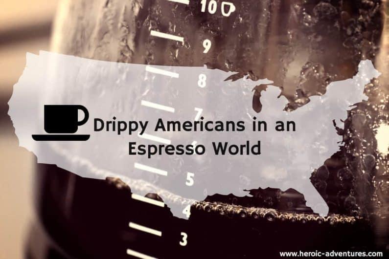 American Auto drip coffee
