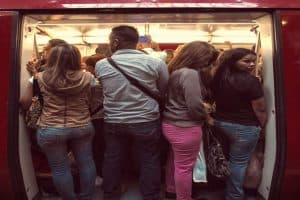 Public Transport Crowding in Caracas