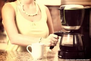 How to drip coffee maker travel