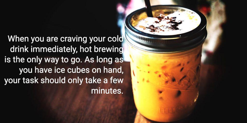 Hot Brew Ice Coffee Recipe