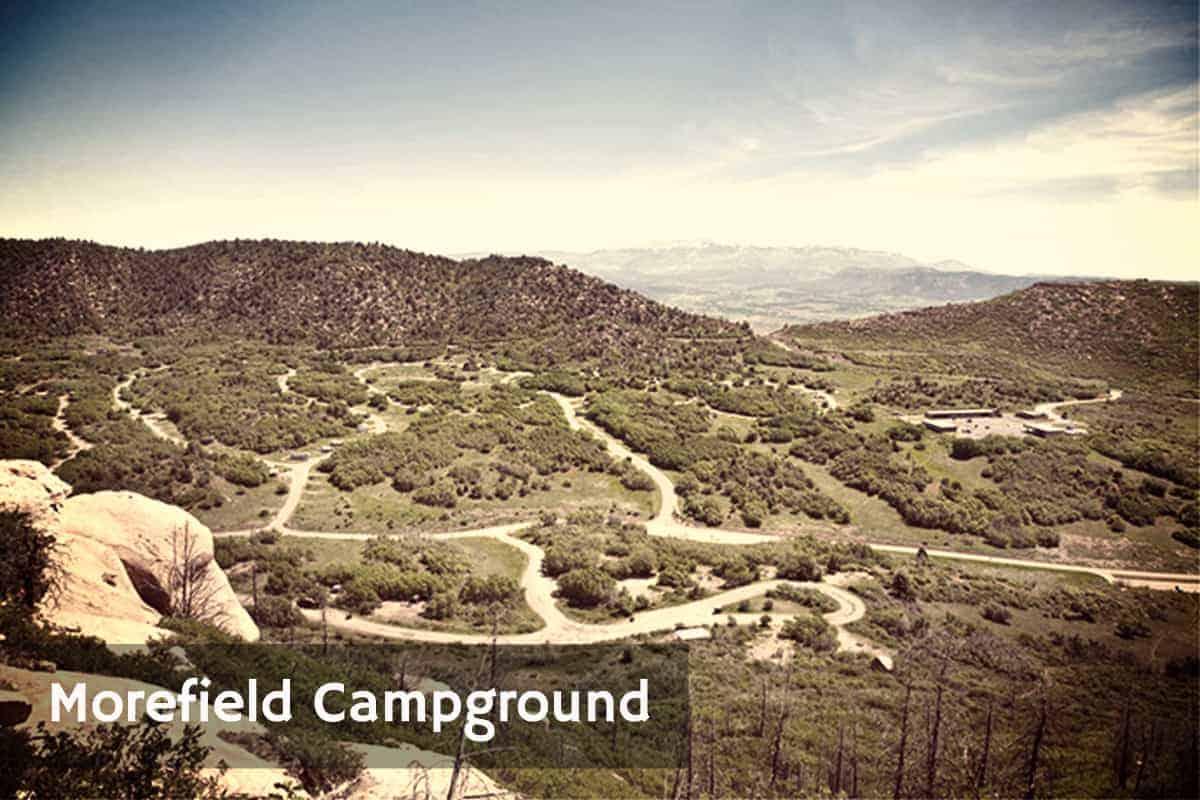 Camping in Mesa Verde