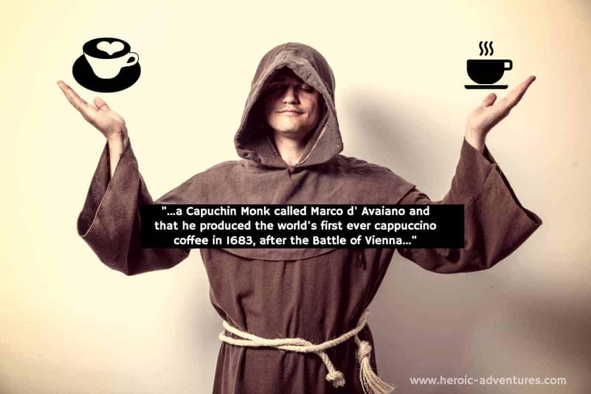 Capuchin Monk & Cappuccino