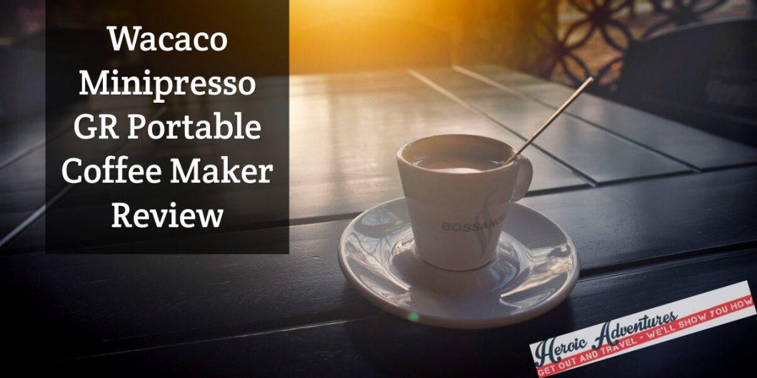 Wacaco Minipresso GR Portable Coffee Maker
