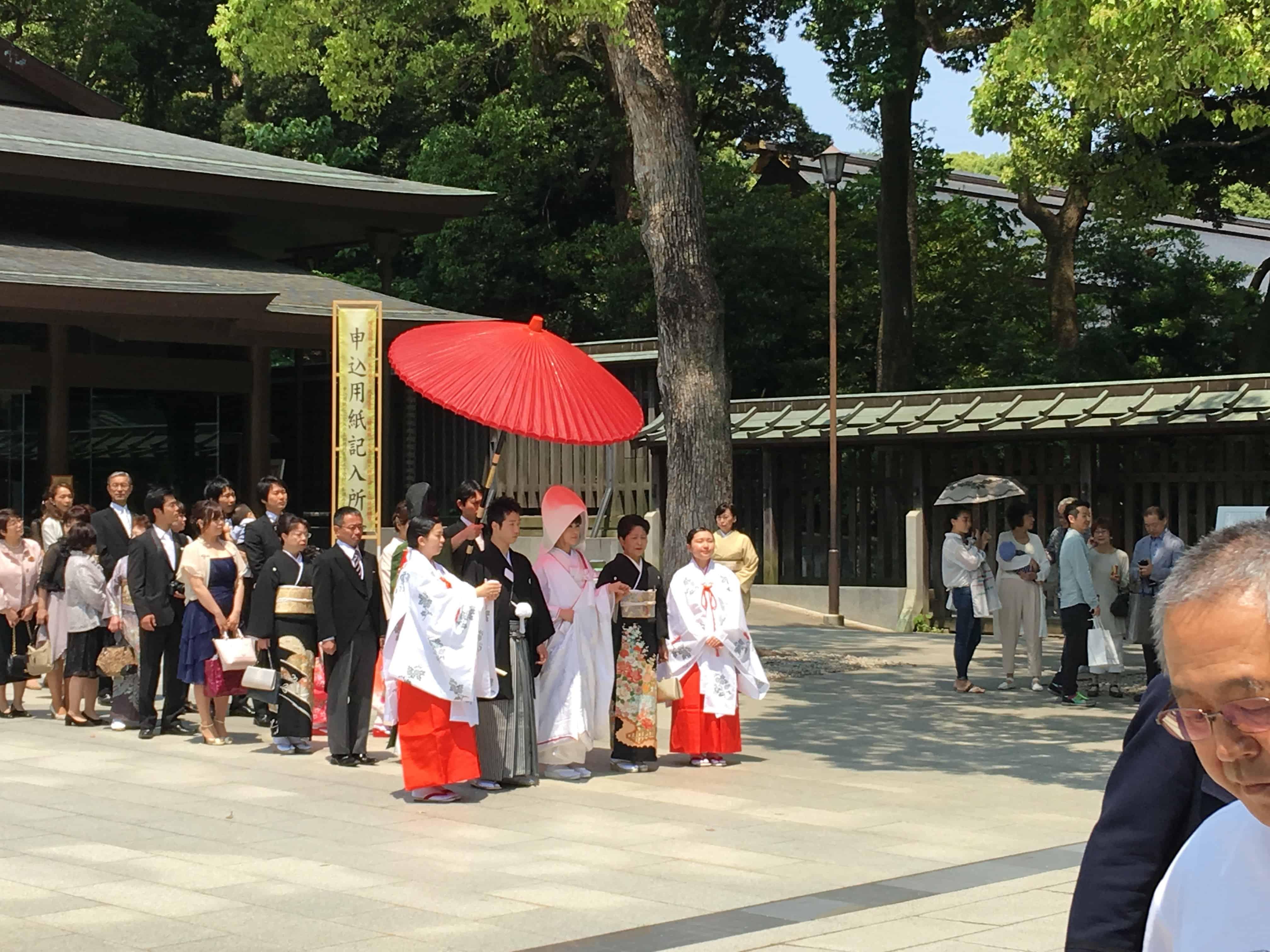 Meiji Wedding Ceremonies